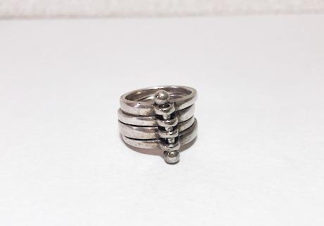 キムワイプで磨いた指輪①