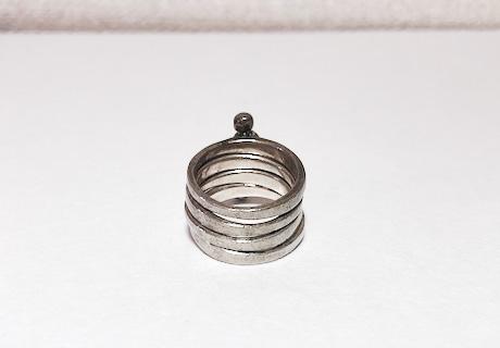 キムワイプで磨いた指輪②