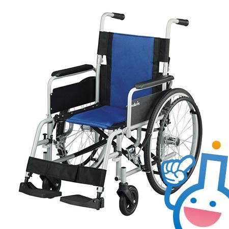 7-4330-01 ナビス(アズワン) 車椅子Fit-AL-M