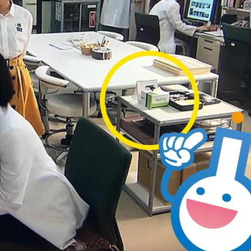 キムワイプが、またまたドラマに出演?!
