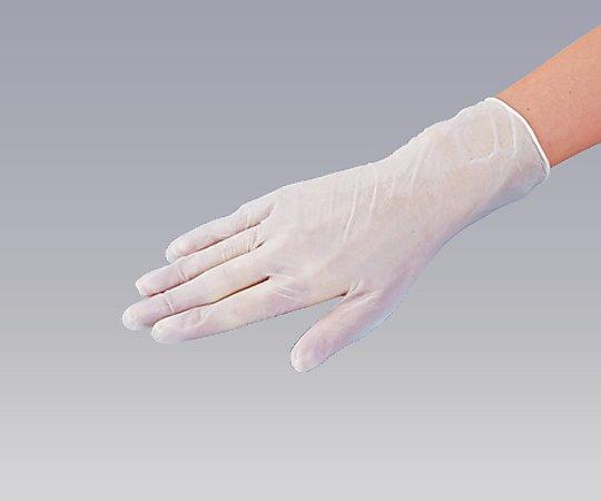 0-9868-02 プラスチック手袋 パウダー無 M100入