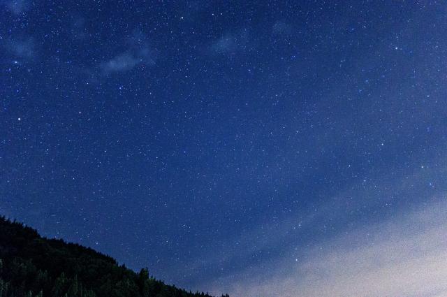 秋の夜長に天体観測