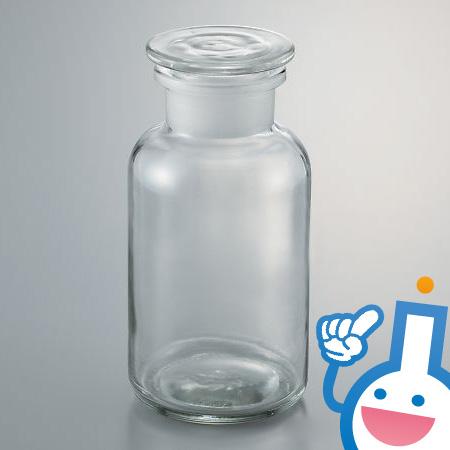 3-9175-04 広口試薬瓶 632414104500 白