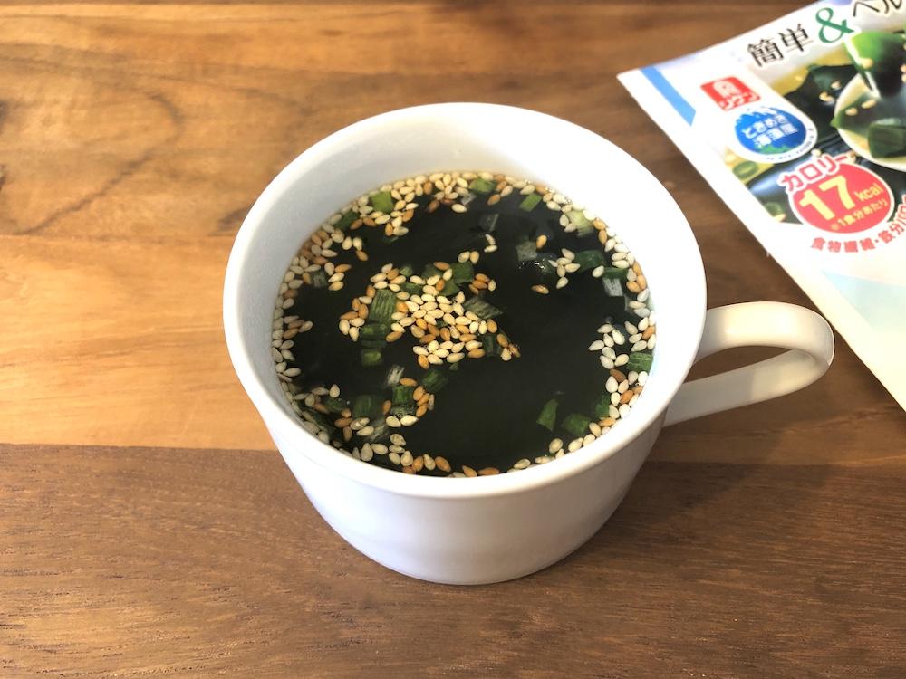 リケン(理研ビタミン株式会社) ときめき海藻屋 わかめスープ
