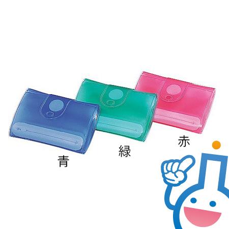 0-6079-01 お薬ケース HM501(青)