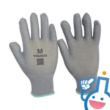 62-8156-30 TEXNCM 発熱インナー手袋 Mサイズ