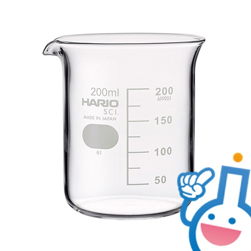 6-214-04 ビーカー シバタ 200ml