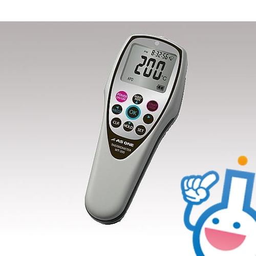 2-3799-02 防水デジタル温度計 WT-200